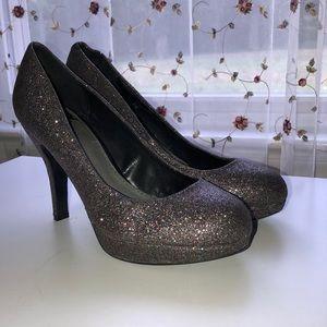 Fergalicious sparkly heels